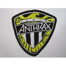 ANTHRAX patch embroidered