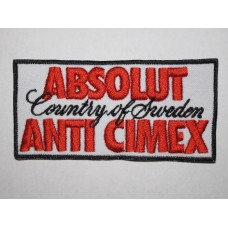 ANTI CIMEX patch embroidered