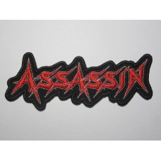 ASSASSIN patch embroidered