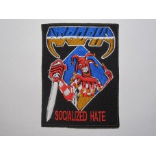 ATROPHY patch embroidered Socialized Hate