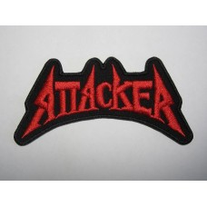 ATTACKER patch embroidered