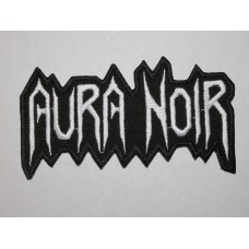 AURA NOIR patch embroidered