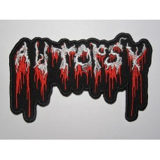 AUTOPSY patch embroidered