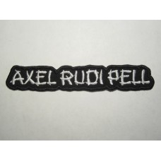 AXEL RUDI PELL patch embroidered