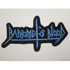 BAPHOMET'S BLOOD patch embroidered
