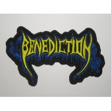 BENEDICTION patch embroidered