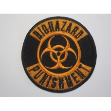 BIOHAZARD patch embroidered