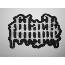 BLACK TONGUE patch embroidered