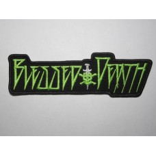 BLESSED DEATH patch embroidered