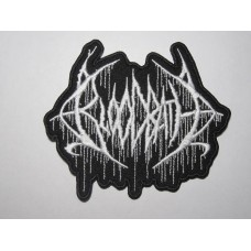 BLOODBATH patch embroidered