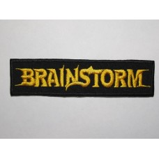 BRAINSTORM patch embroidered