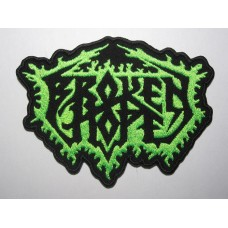 BROKEN HOPE patch embroidered