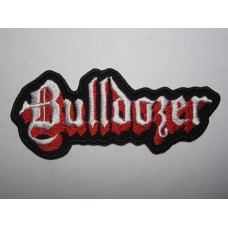 BULLDOZER patch embroidered