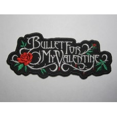 BULLET FOR MY VALENTINE patch embroidered