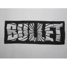 BULLET patch embroidered