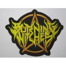 BURNING WITCHES patch embroidered