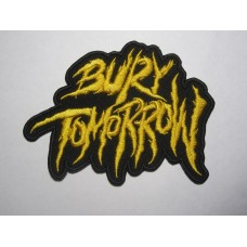 BURY TOMORROW patch embroidered
