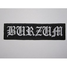 BURZUM patch embroidered