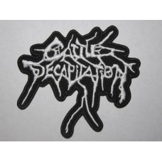 CATTLE DECAPITATION patch embroidered logo