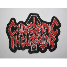 CADAVERIC INCUBATOR patch embroidered