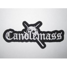 CANDLEMASS patch embroidered