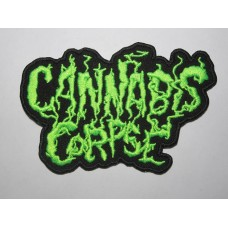 CANNABIS CORPSE patch embroidered