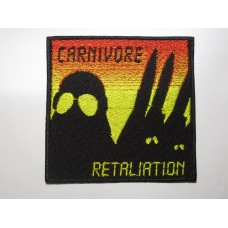 CARNIVORE patch embroidered Retaliation