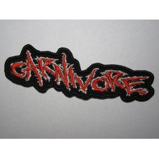 CARNIVORE patch embroidered