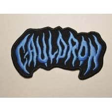 CAULDRON patch embroidered