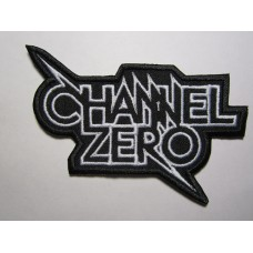 CHANNEL ZERO patch embroidered