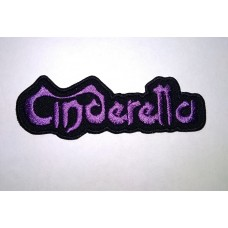 CINDERELLA patch embroidered