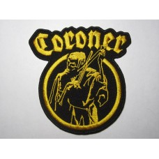 CORONER patch embroidered