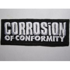 CORROSION OF CONFORMITY patch embroidered