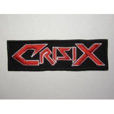 CRISIX patch embroidered