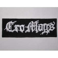 CRO-MAGS patch embroidered