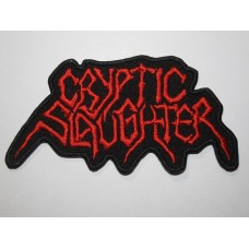 CRYPTIC SLAUGHTER patch embroidered