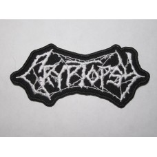 CRYPTOPSY patch embroidered