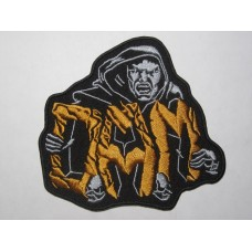 D.A.M. patch embroidered