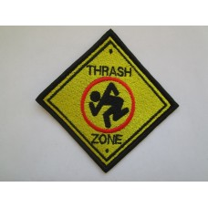 D.R.I. Thrash Zone patch embroidered dri