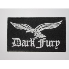 DARK FURY patch embroidered