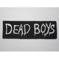DEAD BOYS patch embroidered