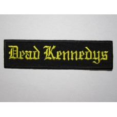 DEAD KENNEDYS patch embroidered