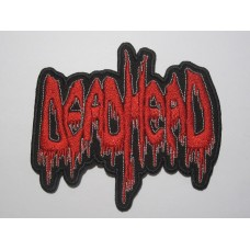 DEAD HEAD patch embroidered