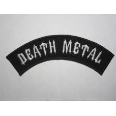 DEATH METAL patch embroidered