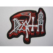 DEATH patch embroidered