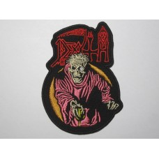 DEATH Scream Bloody Gore patch embroidered
