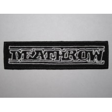 DEATHROW patch embroidered