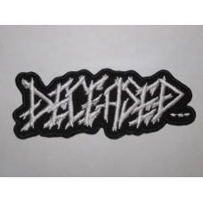 DECEASED patch embroidered