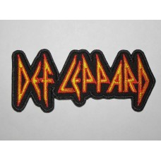 DEF LEPPARD patch embroidered