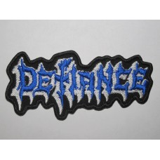 DEFIANCE patch embroidered